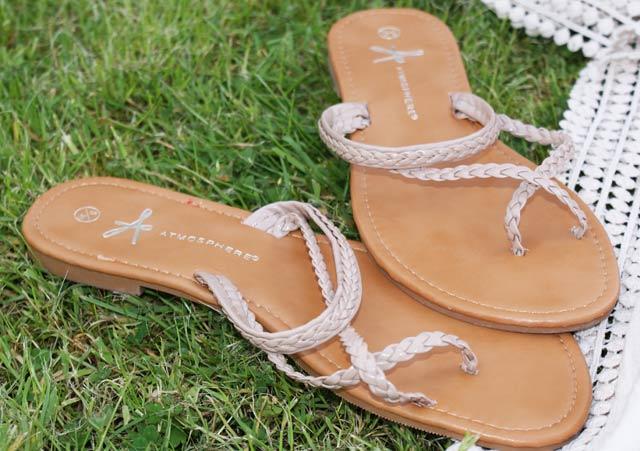 Primark Nude Sandals