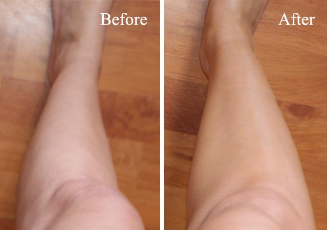 Sally Henson Airbrush Legs Review before and after