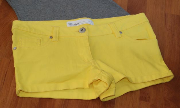 Republic Neon Yellow Shorts
