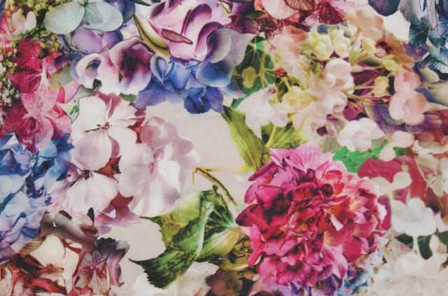 Topshop Floral Print Shorts