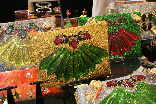 London Fashion Week SS13 Trends Collections glitter bags