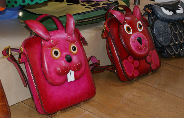 London Fashion Week SS13 Trends Collections bunny animal backpacks