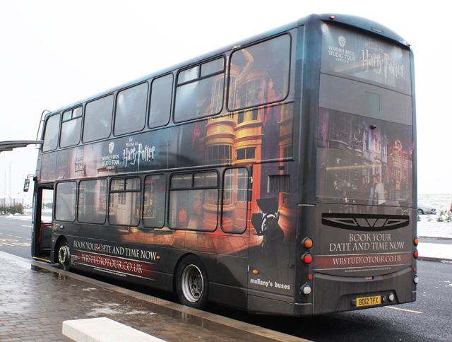 Warner Brothers Harry Potter Studio Tour Bus