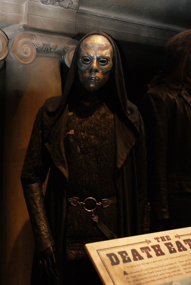 Death Eater at Warner Brothers Harry Potter Studio Tour