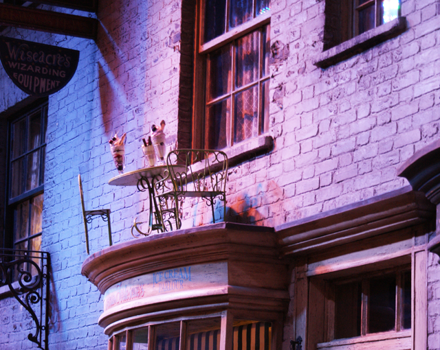 Diagon Alley Harry Potter Warner Brothers Studio Tour