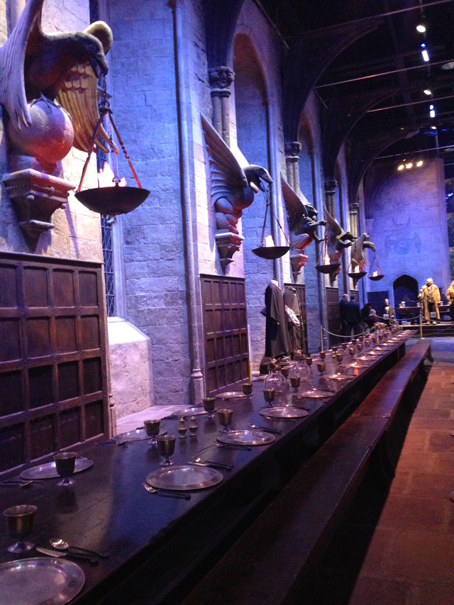 Warner Brothers Harry Potter Studio Tour The Great Hall