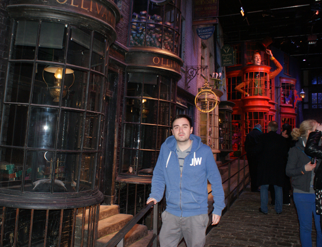 Jono Willis Diagon Alley Warner Brothers Harry Potter Studio Tour