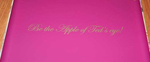 Ted Baker BEVINA Orchid flower print iPad mini case inside