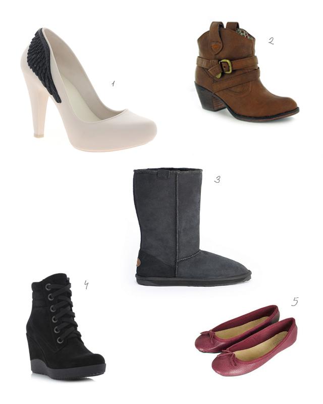 AW13 women's winter footwear on trend