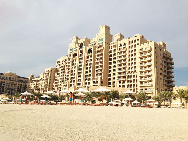 The fairmont hotel dubai the palm