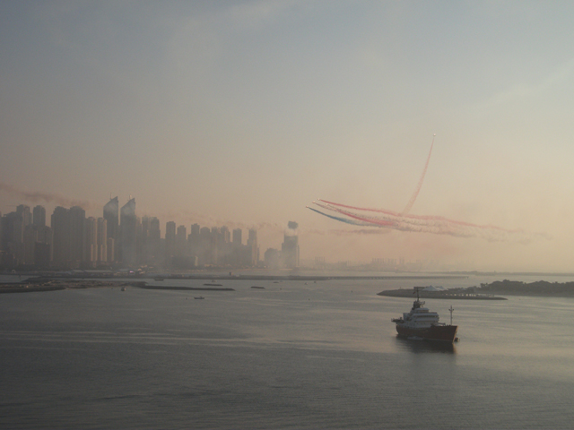 Dubai Skyline Fairmont Hotel