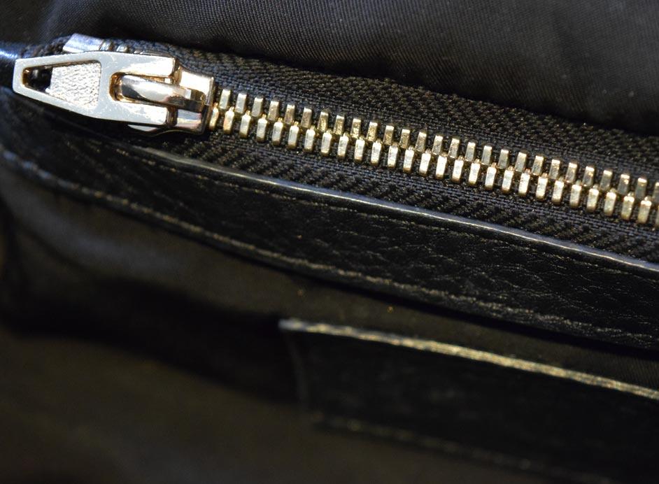 Alexander Wang Black Pebbled Leather Rockie Bag